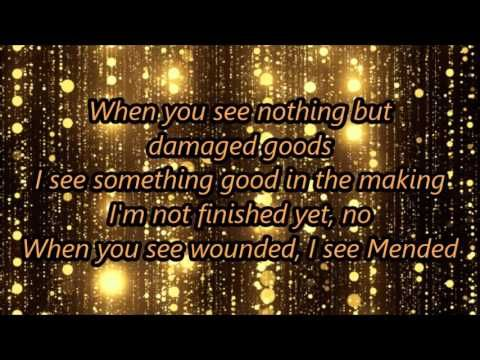 Mended By Matthew West Lyrics - YouTube