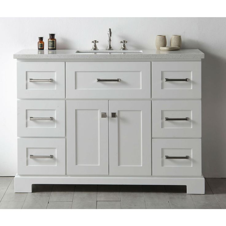 legion quartz top white 48inch single bathroom vanity wh7648w size single vanities