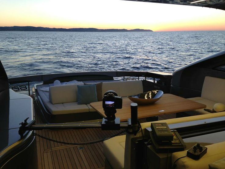 SmartSLIDER PRO 680 with DigiDRIVE on Pershing Yacht 68 by Guerrieri Adv. www.smartsystem.it