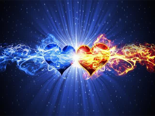 fire and ice heart - photo #17