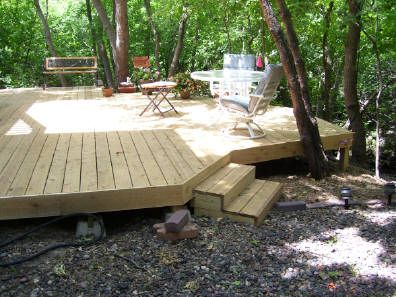 Floating deck outdoor living pinterest decks and for Movable floating deck