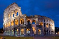 The Colosseum; Rome, Italy.