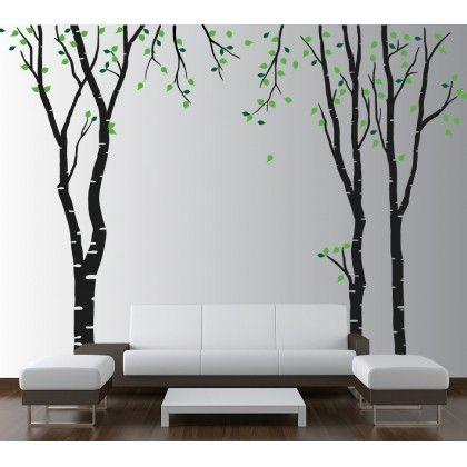 Huş Ağacı Duvar Sticker - Ürünü Detaylı Görmek İçin >> http://www.tablostick.com/index.php?route=product/product&product_id=81