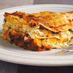 Healthy Lasagna Recipes | Butternut Squash Lasagna | CookingLight.com