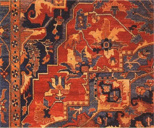 Oriental carpets first became highly prized possessions in Europe during the Middle Ages when the crusaders likely returned home with them. The influence was very unilateral, with Europe hardly influencing the design of Oriental carpets