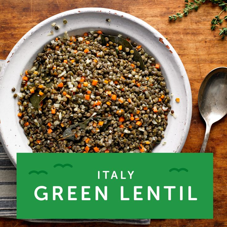 Pair lentils with sausage just after midnight to celebrate like they do in Italy. Now channel the Italian in you with more veggie recipes.
