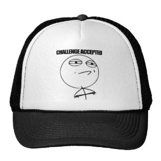 Challenge Accepted Hats