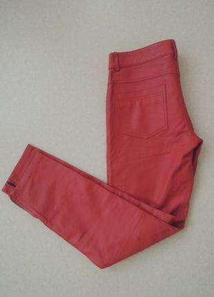 A vendre sur #vintedfrance ! http://www.vinted.fr/mode-femmes/pantalons-skinny/18315994-pantalon-en-cuir-rouge-bel-air