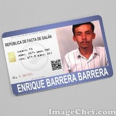 Crea Tu Cédula Gratis y con el solo requisito de  ser  partidario   de la http://gobdefactgalan.es.tl