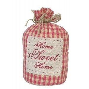 *Home Sweet Home* Door Stop --- Clayre  Eef --- http://www.clayre-eef.com/