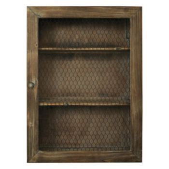 Natural Home Chicken Wire Cabinet Kohls Sale 59 99 My