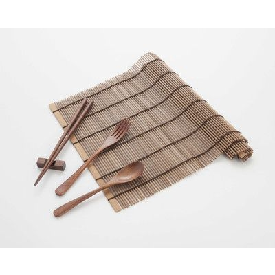 Cook Pro 6 Piece Asian Bamboo Flatware Set