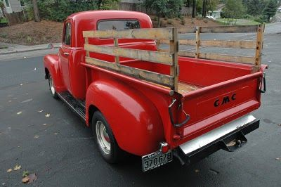 Someday, I want an old pickup truck.