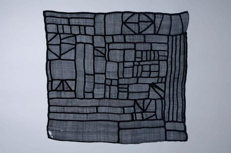 Korean patchwork scarf. Period Chosun Dynasty