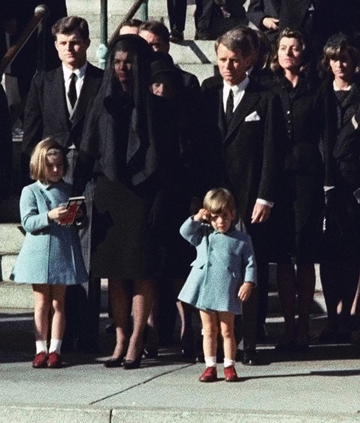 Nov. 25, 1963 — Burial of John F. Kennedy   The 50 Most Powerful Pictures In American History