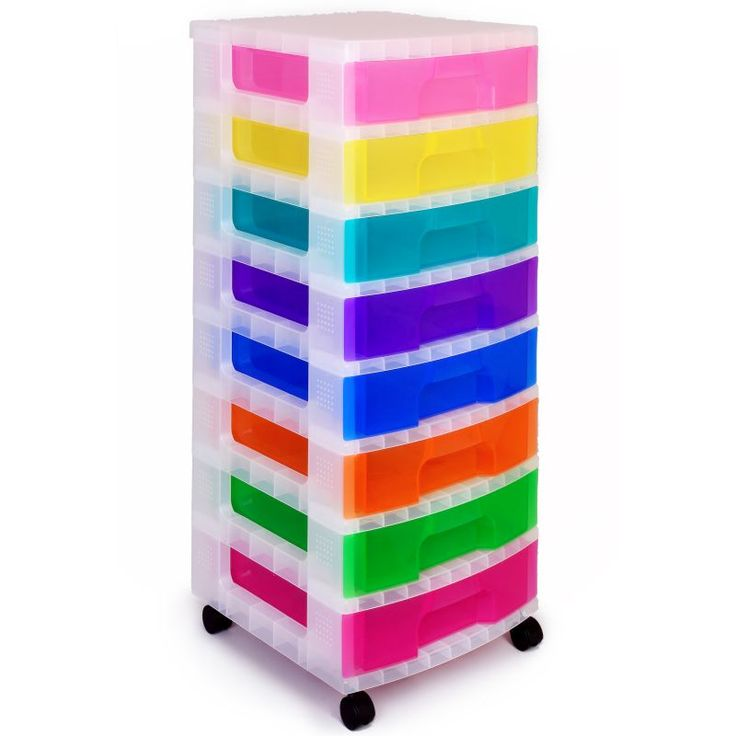 Really Useful Storage Tower 8 X 9 Litre Clear | Hobbycraft