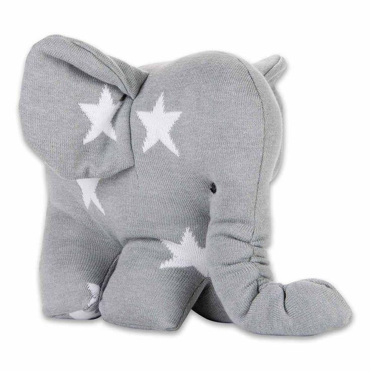 Elephant Star - Soft grey By Baby's Only - www.babysonly.nl