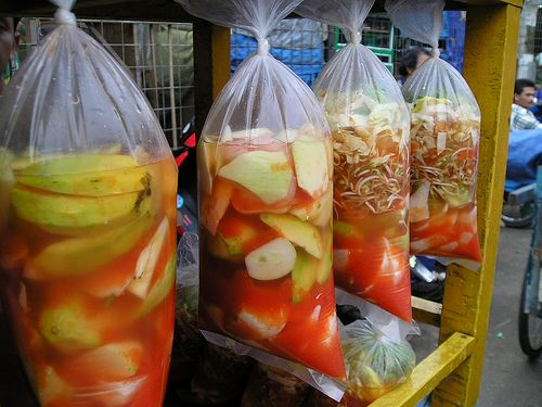 Asinan buah dan sayur