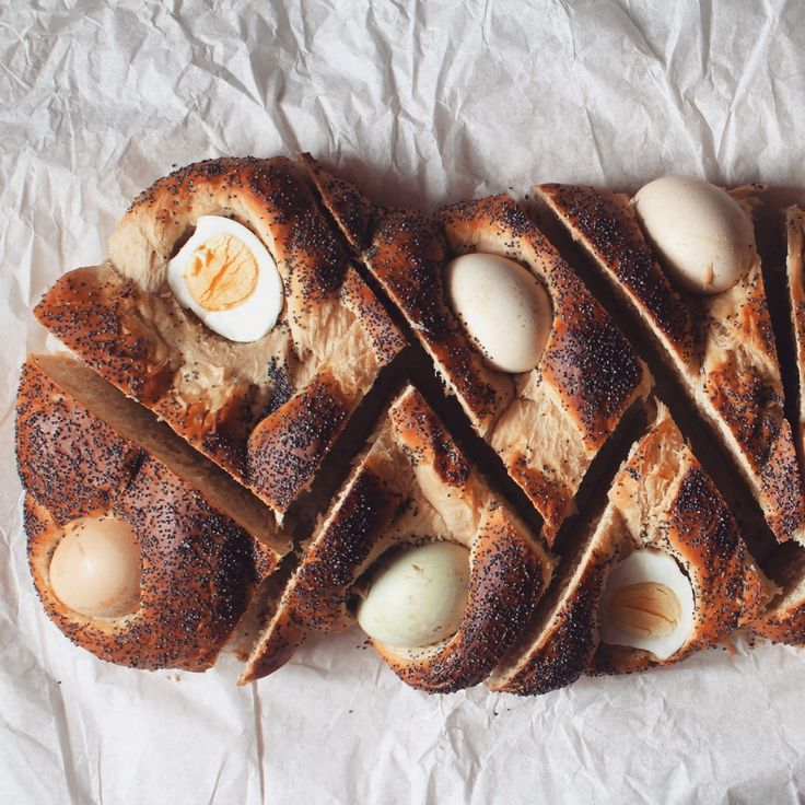 Påskbröd med hårdkokta Ägg – Fridas bakblogg