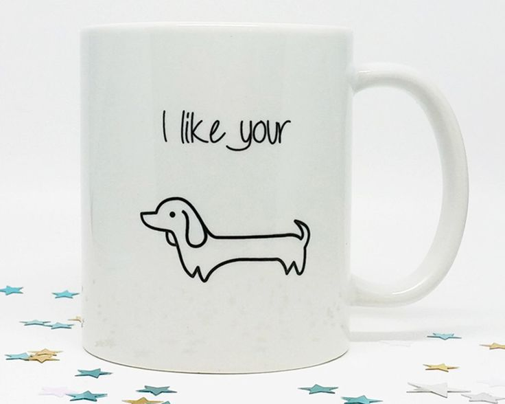Coffee Mug, Funny Coffee Mug, Wiener Dog, Dog Lover Gift, Dachshund, Coffee Cup, Gift for Him, Gift for Husband,Birthday Gift, Holiday Gift by FourLetterWordCards on Etsy https://www.etsy.com/listing/242339632/coffee-mug-funny-coffee-mug-wiener-dog