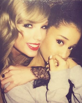 "Ariana Grande Joins Taylor Swift's Bevy of BFFs: ""Ariana, you're my favorite!"""