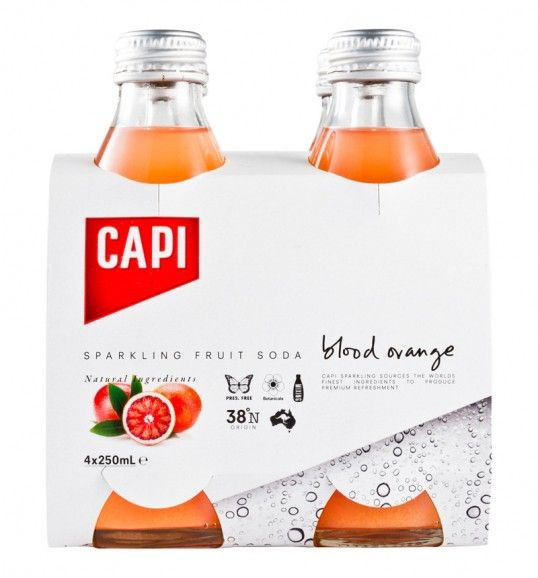 Capi Sparkling: Branding Design, Drinks Branding, Desing Packaging, Simple Packaging, Cip Creative, Capi Drinks, Sodas Boxes, Capi Sparkle, Capi Packaging