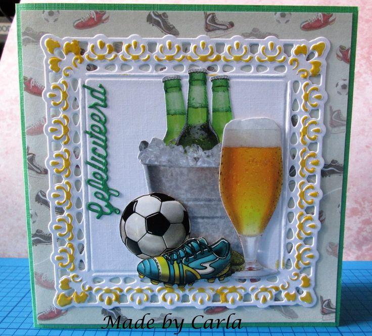 voetbal en bier