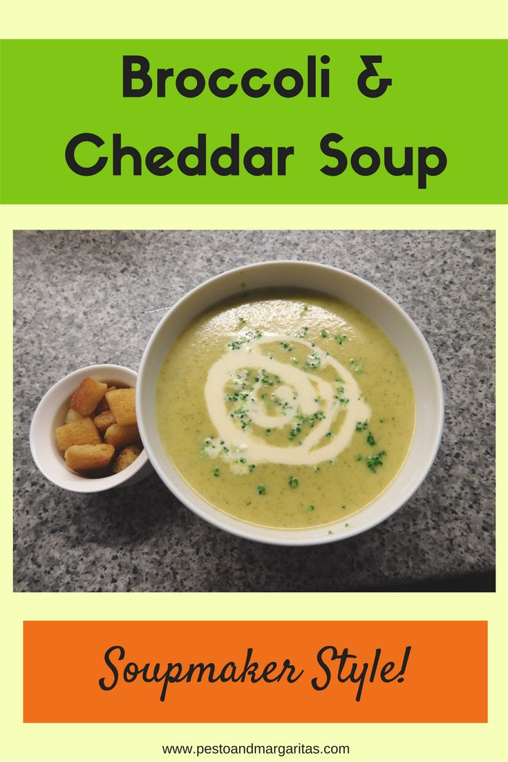A lot of soup recipes don't use a soupmaker but this one is an adaption of a normal recipe especially for the soupmaker.  http://pestoandmargaritas.com/recipe/broccoli-and-cheddar-soupmaker-soup/