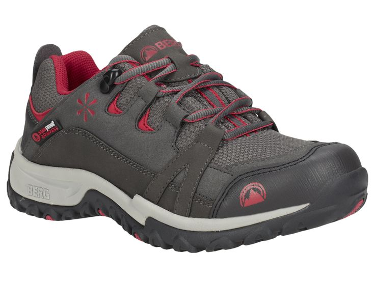 Delivering excellent grip and traction in stable terrains, this waterproof sneaker is perfect for urban treks and low-medium technical trails.