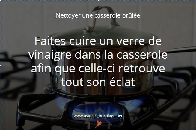nettoyer une casserole brûlée #maison #cuisine