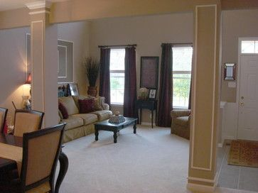27 best painted columns images on pinterest for Columns in living room ideas