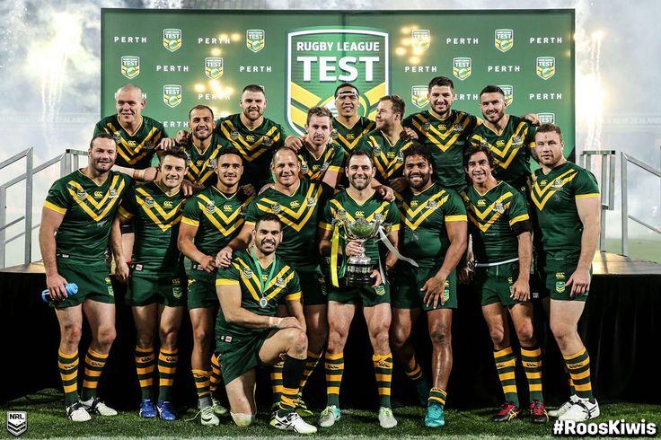 NRL (@NRL) | Twitter. Congratulations @Kangaroos!   #RoosKiwis #NRL  Australian Kangaroos