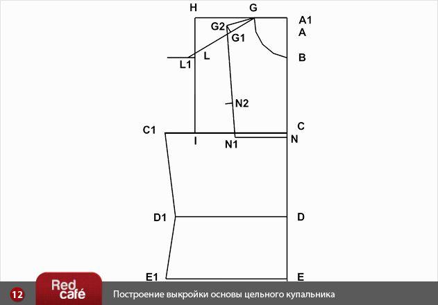 Выкройка купальника | RedCafe.ru