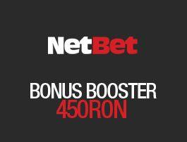 Agentia de pariuri online Netbet! Cel mai mare Bonus 450 RON! Cele mai bune cote la pariuri live!