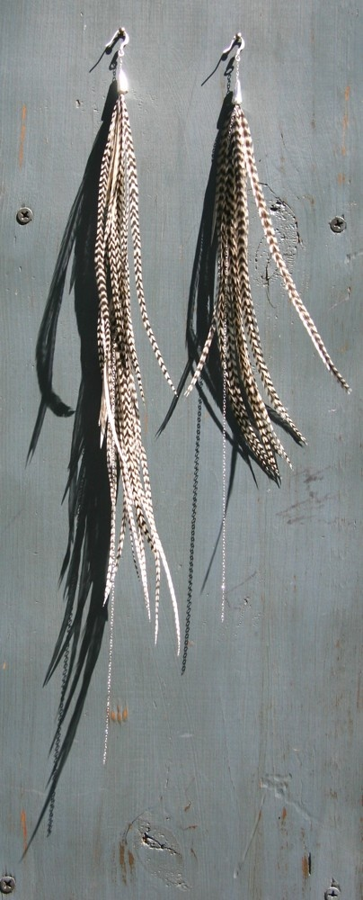 Freeravin - You don't own Me, $135.00 (http://www.freeravin.com/you-dont-own-me/) #bohemain #style #feather #earrings #long #design #art #style #fashion #shop