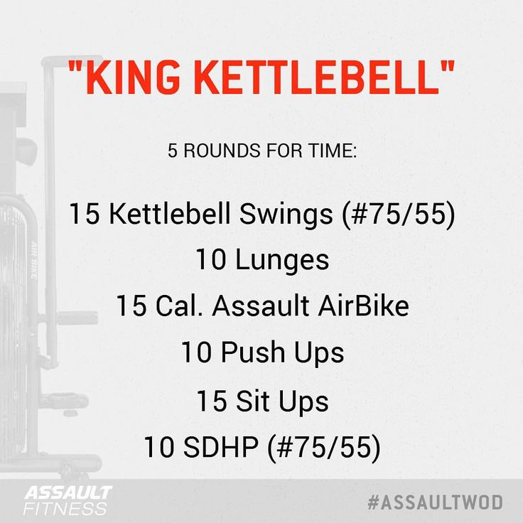 "263 gilla-markeringar, 9 kommentarer - Assault Fitness (@assaultairbike) på Instagram: ""Got what it takes to be King?? This week's challenge has some serious kettlebell work that should…"""