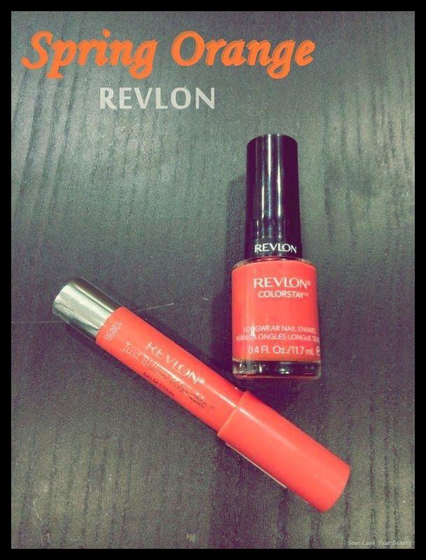 your look your beauty: Spring Orange Revlon   Giveaway