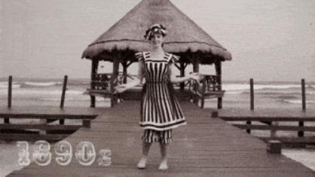 Evolution of the Bikini. With Amanda Cerny - 9GAG
