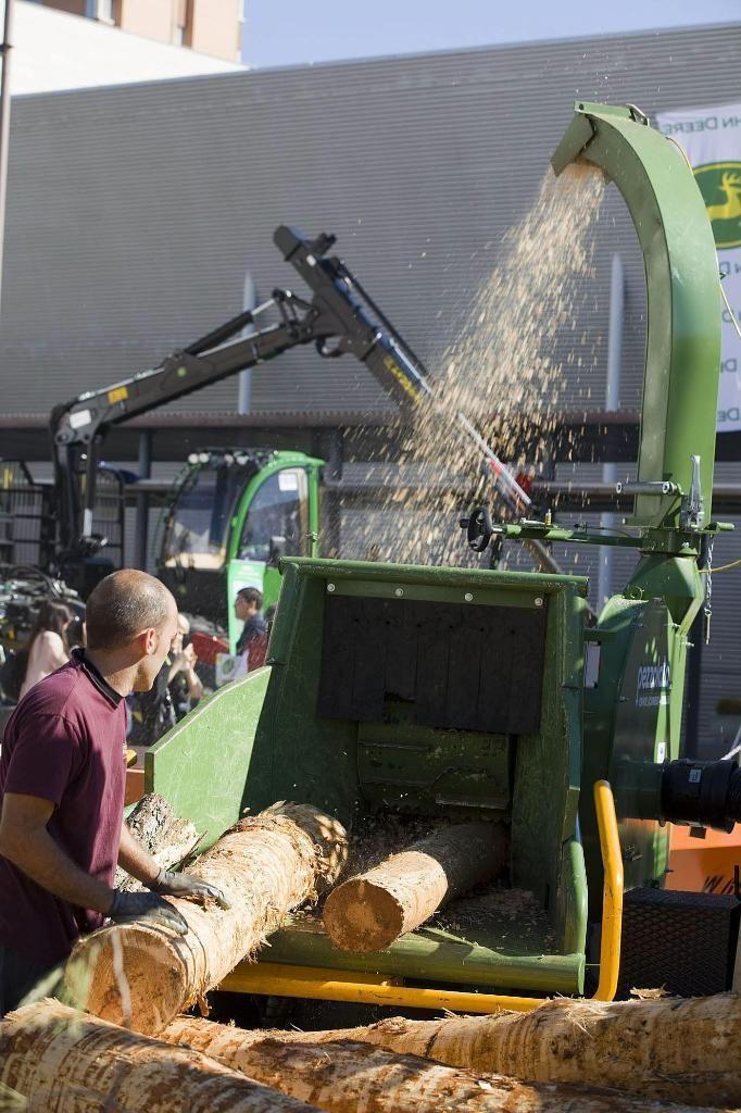 El 70 por ciento del consumo de energía de biomasa procede del sector industrial.