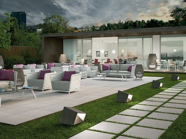 Porcelain Stoneware Outdoor Floor Tiles SistemN20 By MARAZZI