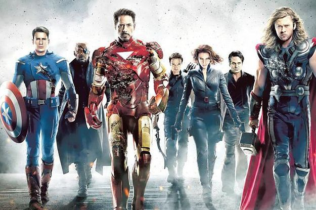 BUZZFEED QUIZ- which Marvel movie character are you? I GOT STAR-LORD \(-o-)/