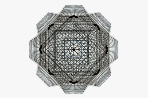 kaleidoscopic architecture cory stevens highsnobiety 11 630x419 Kaleidoscopic Architectural Compositions by Cory Stevens