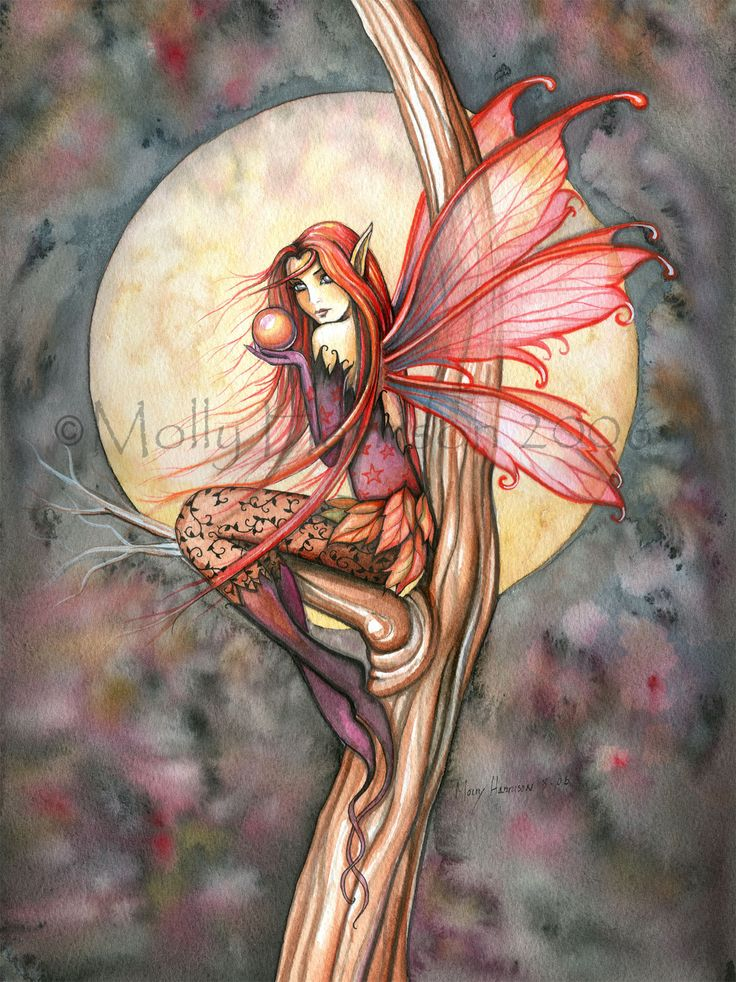 The Fantasy Art and Fairy Art of Molly Harrison: Fairy Art Prints Page 3