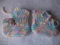Puppenschuhe gestrickte Schuhe Socken