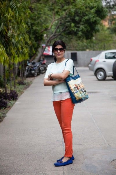 Guide: How to wear colored jeans!