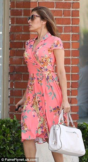 $90 New York & Co Eva Mendes collection Marina wrap dress. Love!!