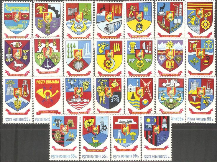 MNH Series Stamps Romania Complete