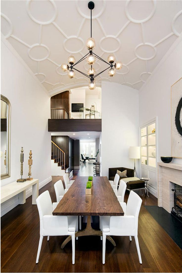 A Duplex in Greenwich Village Dining Room