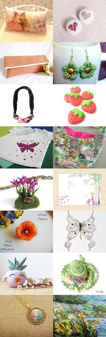 Etsy Treasury The colors of April by Miss Style on Etsy, Pinned+with+TreasuryPin.com