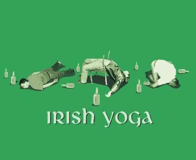 Excellent.Funny Funny, Funny Things, Irish Yoga, Drinks Funny, Irishyoga, Fun Stuff, Funny Stuff, St Patricks, Happy St